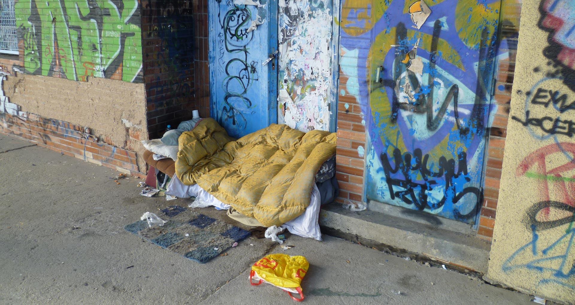Fenomén bezdomovectví